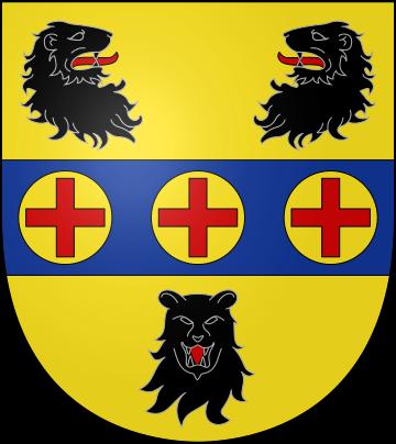 Blason de la famille de Ghellinck d'Elseghem