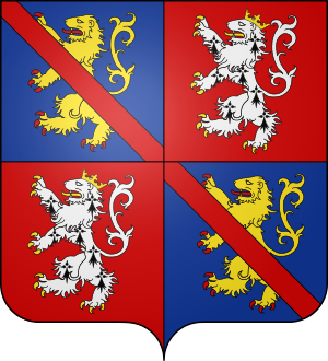 Blason de la famille de Cassagnes de Beaufort de Miramon