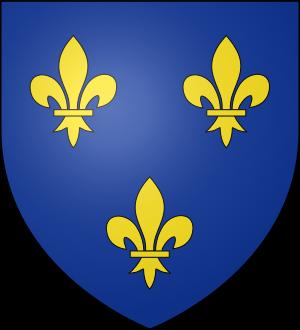 Blason de la famille de France