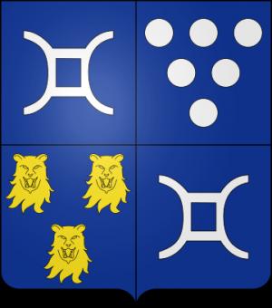 Blason de la famille Jacobé de Haut de Sigy (Perthois)