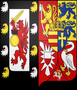 Blason de la famille Romanov-Holstein-Gottorp