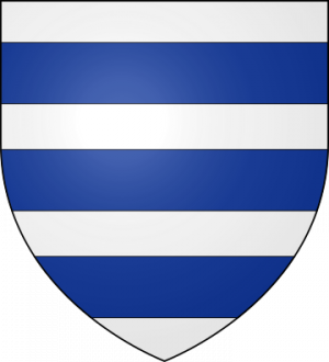 Blason de la famille d'Echauz (Basse Navarre)