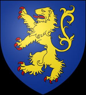 Blason de la famille de Wierre (Picardie, Boulonnais)