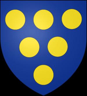 Blason de la famille d'Auberjon (Lauragais)