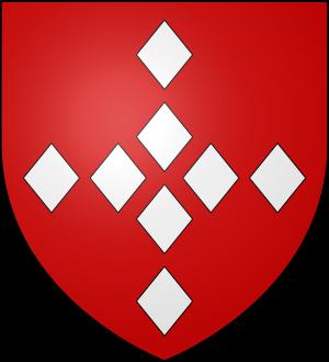 Blason de la famille Aubé de Bracquemont (Picardie)