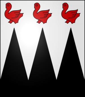 Blason de la famille de Waldner de Freundstein (Alsace)