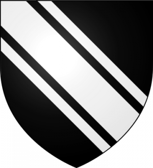 Blason de la famille de Quatrebarbes (Anjou, Maine et Bretagne)