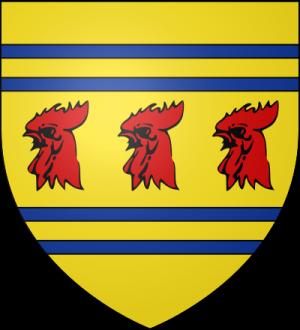 Blason de la famille Adès (Bretagne)