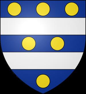 Blason de la famille Aladane (Nivernais)