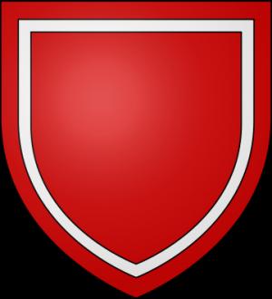 Blason de la famille de Waudricourt alias Vaudricourt (Vimeu)