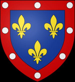 Blason de la famille de Valois d'Alençon