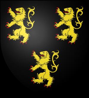 Blason de la famille de Wavrechin (Flandre)
