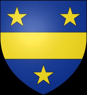 Blason de la famille Abaquesné de Parfouru (Normandie)