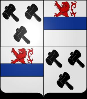 Blason de la famille de Woelmont (Belgique)