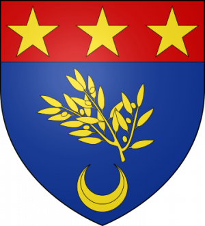 Blason de la famille d'Alayer de Costemore (Provence)