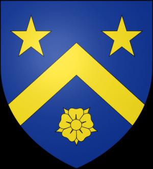 Blason de la famille Jacquelot de Chantemerle (Bourbonnais)