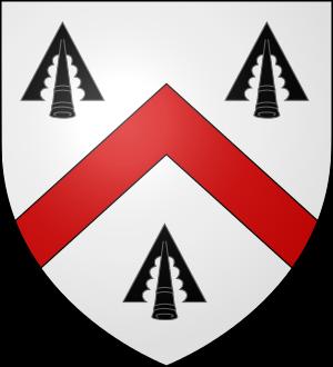 Blason de la famille Walsh (Irlande, Bretagne, Anjou)