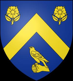 Blason de la famille de Laage (Saintonge)
