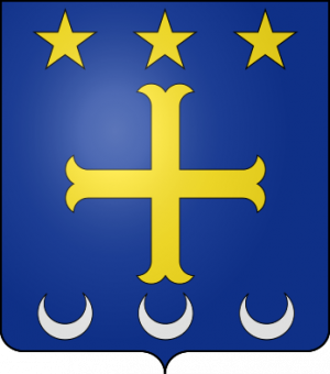 Blason de la famille Aragonnès (Auvergne)