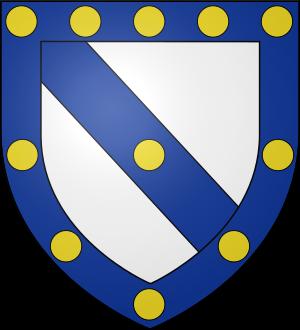 Blason de la famille d'Abzac (Périgord)