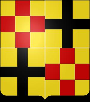 Blason de la famille de Rabutin-Chantal (Bourgogne)