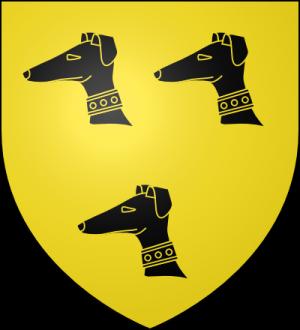 Blason de la famille Aubert (Bourgogne et Bretagne)