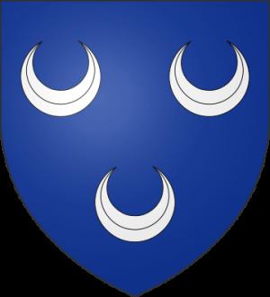 Blason de la famille d'Anceau (Toulouse)