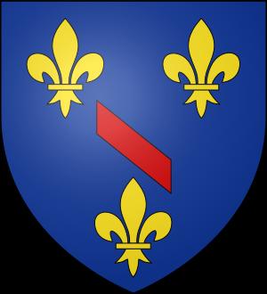 Blason de la famille de Bourbon Busset et Bourbon-Châlus