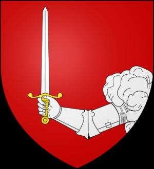 Blason de la famille d'Amat (Dauphiné)