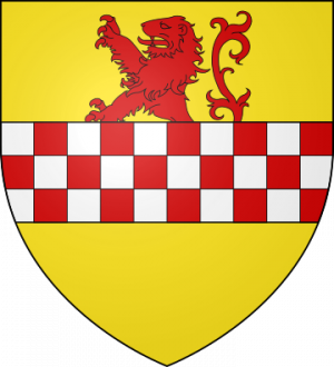 Blason de la famille d'Aigremont (Normandie)