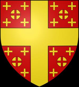 Blason de la famille de Courtenay