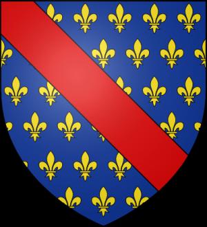 Blason de la famille Bourbon-Clermont