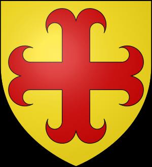 Blason de la famille d'Aubusson (Limousin)