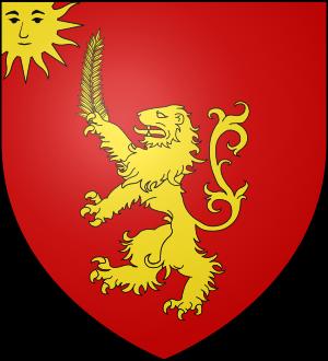 Blason de la famille de Rabaudy (Languedoc)