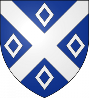 Blason de la famille de Quarouble alias Courouble (Flandre)