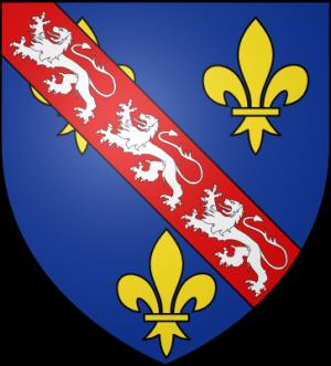 Blason de la famille de Bourbon-La Marche