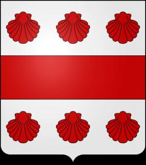 Blason de la famille de Rabaine (Saintonge, Limousin)