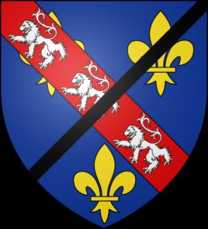 Blason de la famille de Bourbon-Ligny