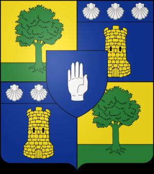 Blason de la famille de Waroquier de Puel-Parlan (Rouergue)