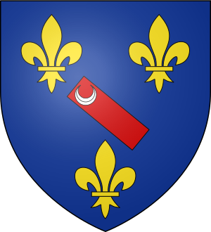Blason de la famille de Bourbon-Montpensier
