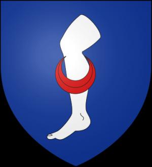 Blason de la famille Aubert de Trégomain (Bretagne)
