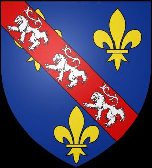Blason de la famille de Bourbon-Vendôme