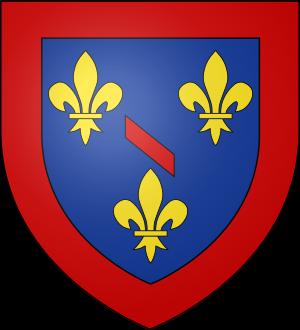 Blason de la famille de Bourbon-Conti