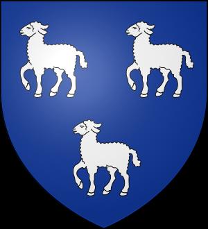 Blason de la famille d'Aigneaux (Normandie)