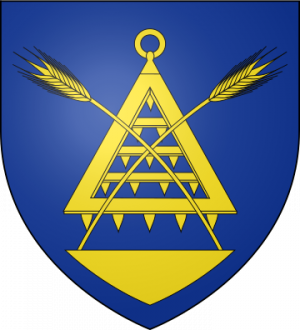 Blason de la famille de Waubert (Île-de-France, Normandie)