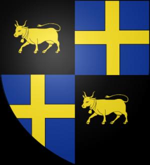 Blason de la famille de Vachon de Belmont de Briançon (Dauphiné)