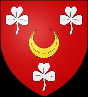 Blason de la famille d'Aubéry (Anjou)