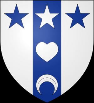 Blason de la famille Aubin de Jaurias (Périgord)