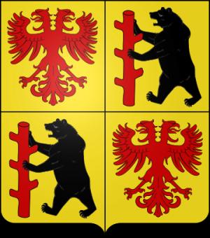 Blason de la famille de Wazières olim Fourmestraux (Flandres)
