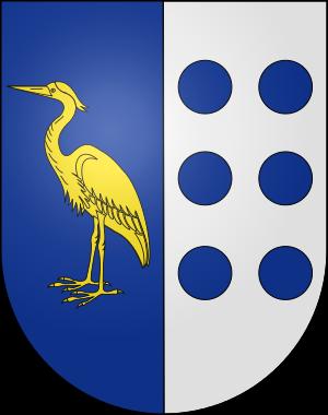 Blason de la famille de, del Acebal (Asturies, Pays-Basque)